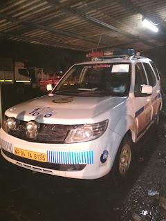100 नम्बर पुलिस वाहन का सराहनीय कार्य, घायल व्यक्ति को पहुंचाया अस्पताल