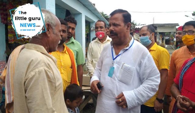 चिरैया का विकास मेरा संकल्प : विधायक लालबाबू प्रसाद गुप्ता