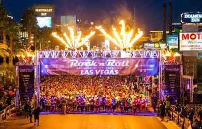 Maraton nocturna del Rock And Roll en Las Vegas