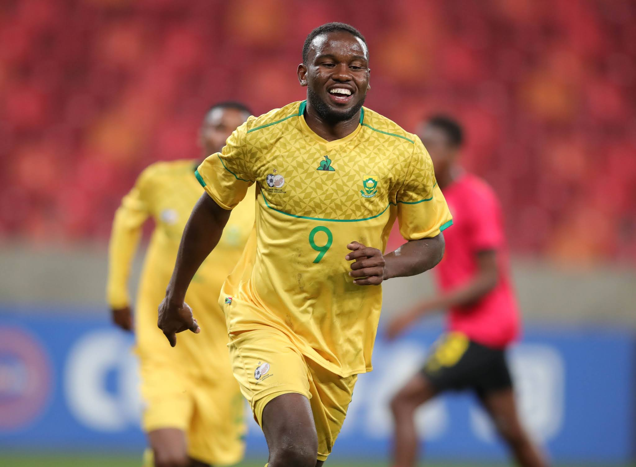 Bafana Bafana forward Victor Letsoalo