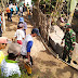 Bupati Cilacap Serahkan Ratusan Semen, Bantu Tiga Desa Membuat Jalan Rabat Beton