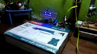 Unboxing Bor Listrik Satu Set ORION Impact Drill 13mm HD600S