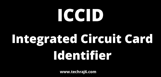 ICCID full form, What is the full form of ICCID