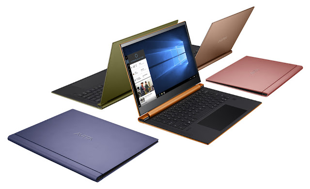 AVITA debuts stylish ADMIROR and PURA laptops at CES 2020