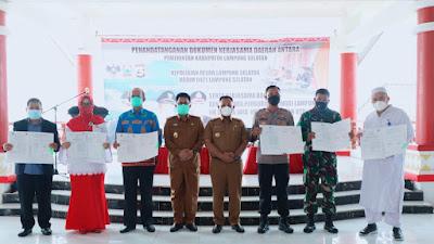 Nanang Teken MoU Kerjasama Pengamanan Pilkades Serentak