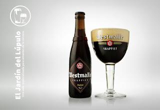 Westmalle Dubbel, cerveza trapense belga.
