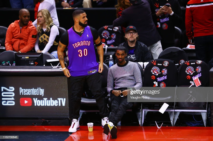 Drake Wears Dell Curry Jersey To Troll Warriors