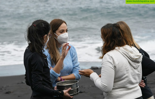 El Cabildo y la ULL realizarán en La Palma el primer estudio en Canarias sobre microplásticos en la zona intermareal