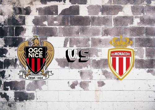 Nice vs AS Monaco  Resumen