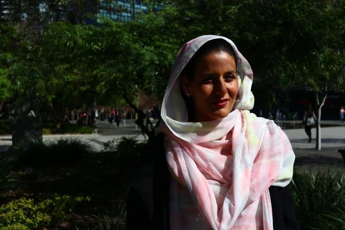 """Tecber Ahmed Saleh: """"La educación es la clave de nuestra lucha"""""""