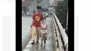 Pengakuan Emak-emak di Pandeglang: Kaos Logo PKI Didapat dari Tetangga