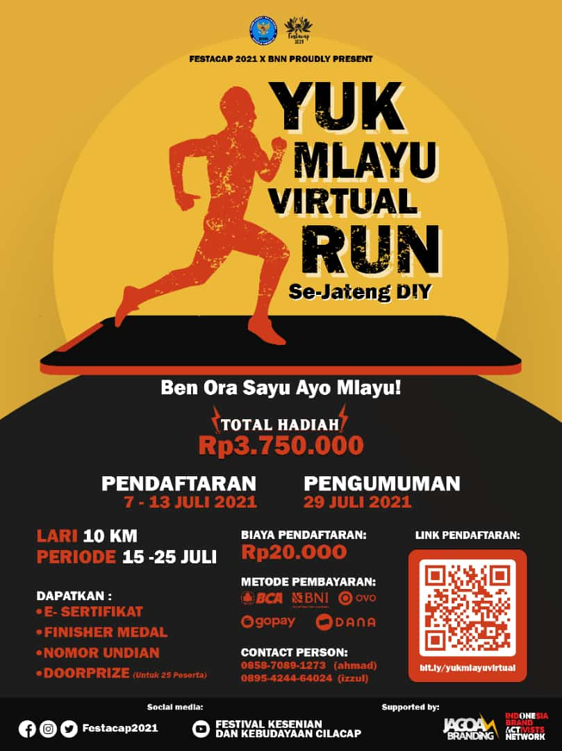 Yuk Mlayu Virtual Run • 2021