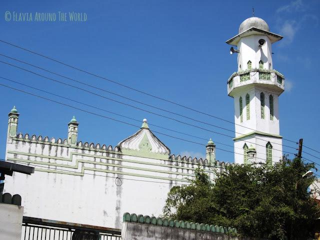 Mezquita en Mombasa