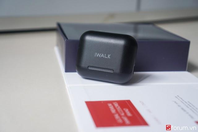 iWalk Amour Air Duo 2: Chiếc tai nghe với thiết kế mới lạ, thời lượng sử dụng lớn, tính năng đa dạng, tuy nhiên…