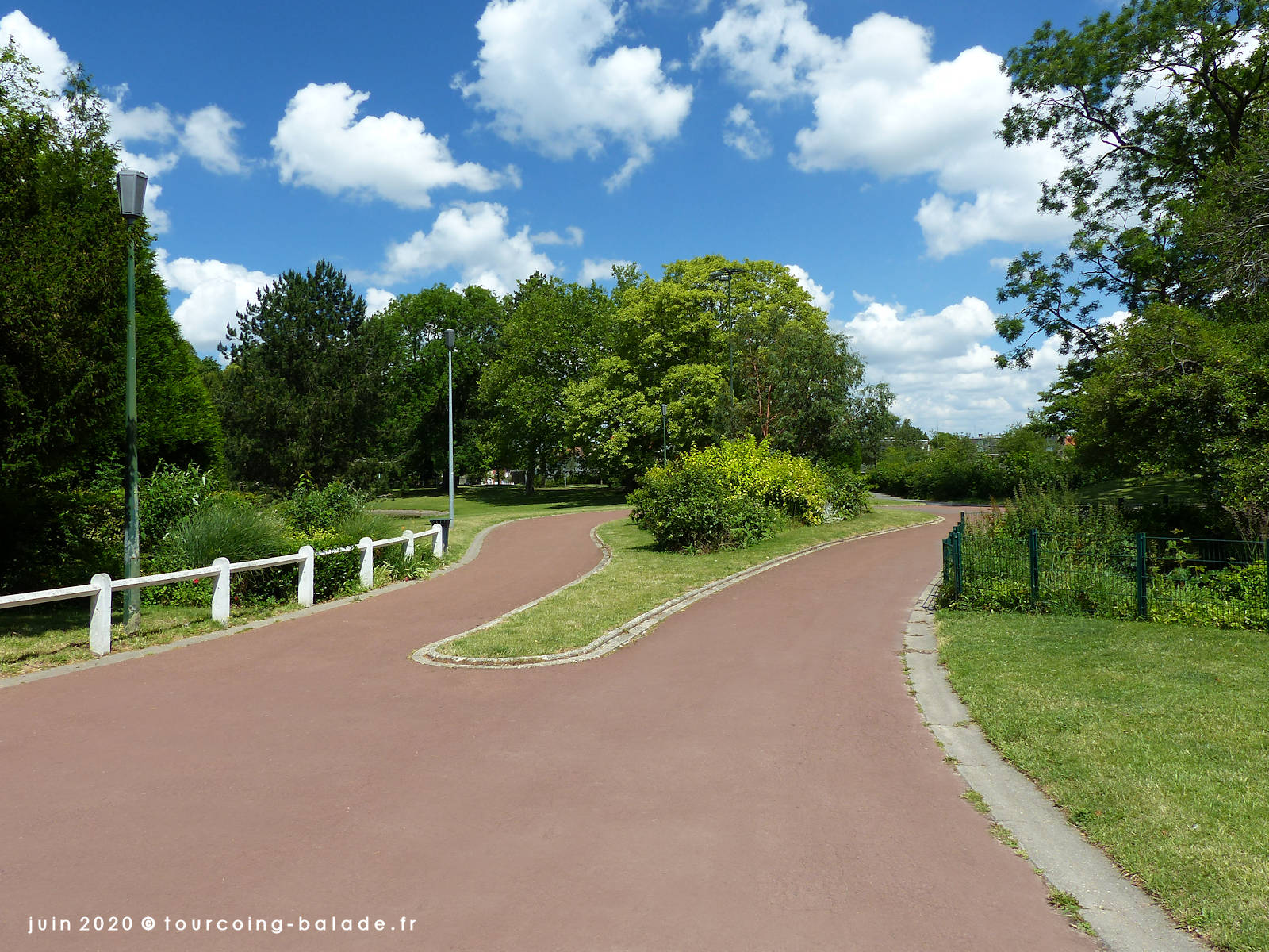 Parc Clemenceau, Tourcoing 2020