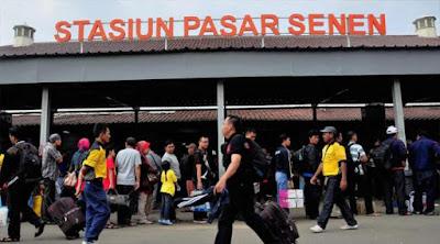 Alamat Stasiun Pasar Senen