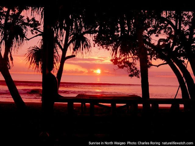 Sunrise in Waigeo island of Raja Ampat