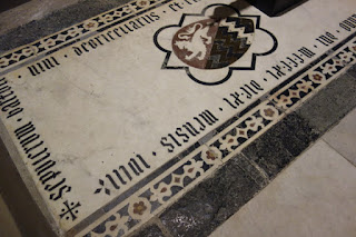 Rucellai Chapel and Sepulcre Museum Marino Marini Florence Italy Floor Marble