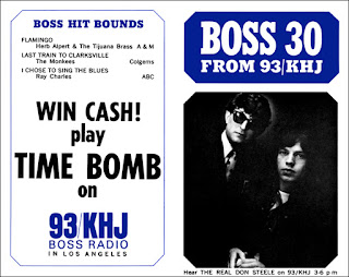 KHJ Boss 30 No. 59 - The Real Don Steele with Mick Jagger