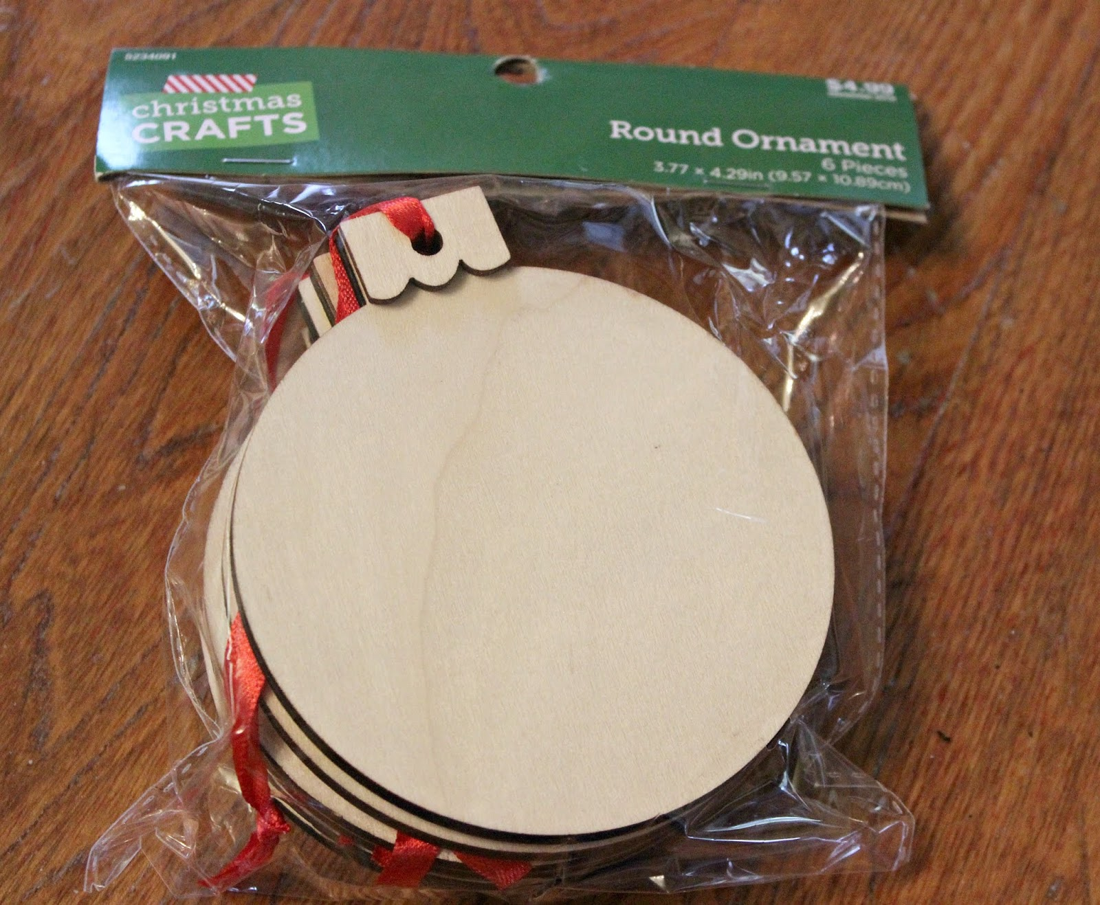 Diy Hobby Lobby Christmas Craft Ornament Banner With Buffalo Checks