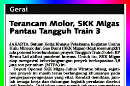 Threatened to be Delayed, SKK Migas Monitor Tangguh Train 3