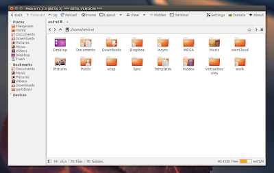 Polo Is An Interesting New GTK3 File Manager (Beta)