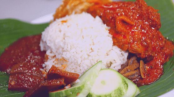 Malaysia's national dish is Nasi lemak