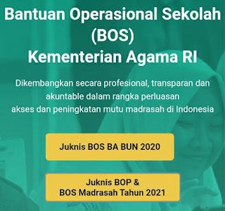 BOS Madrasah Cair 31 Maret 2021