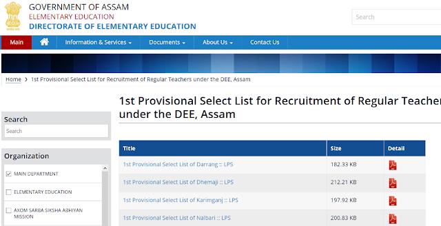 DEE-Assam-Provisional-Merit-List-2020