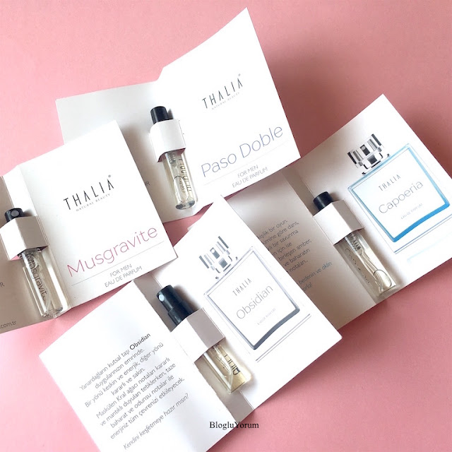 thalia natural eau de parfüm serisi erkek parfümleri