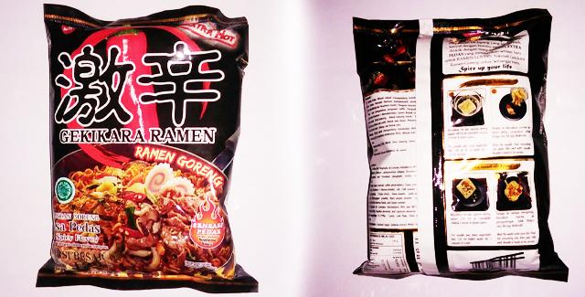 Kemasan - Gekikara Ramen Goreng - Extra Hot
