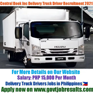 Central Book Supply Inc Delivery Truck Driver Recruitment 2021-22