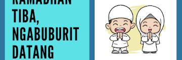 Ramadhan Tiba, Ngabuburit Datang