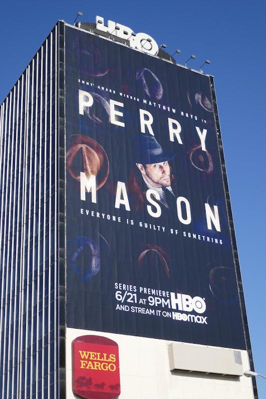 Giant Perry Mason 2020 billboard