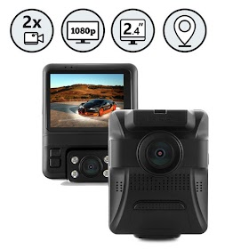 Rear View Safety November Product of The Month - RVS-875-DL Dual Lens Full HD Dash Camera
