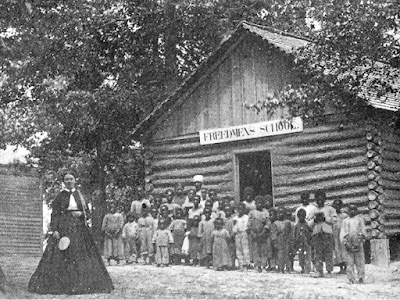 Freedmen's colonies offered education for children and adults