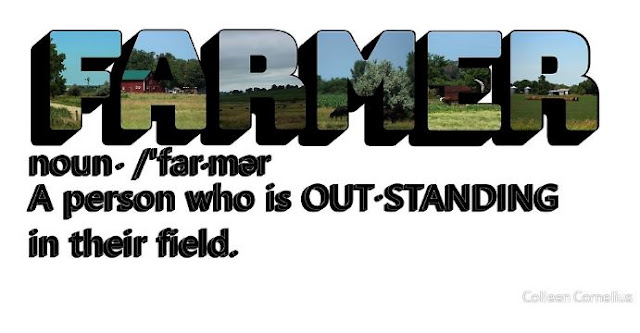The Definition of Farmer Big Letter
