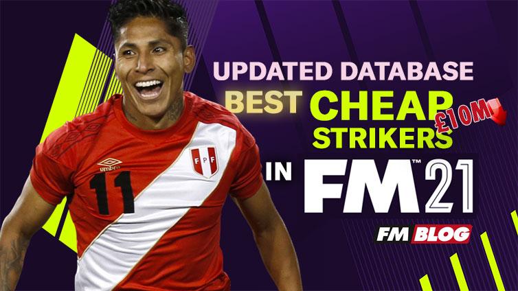 FM21 Best Cheap Bargain Strikers