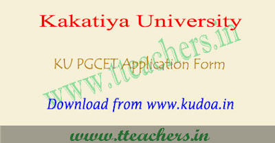 KU PGCET 2018 application form, KUCET result 2017