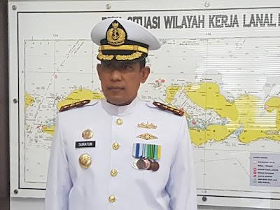 Lanal Mataram Siap Amankan TSS di Selat Lombok
