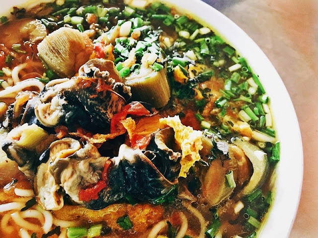 Snail vermicelli soup in winter Hanoi 1