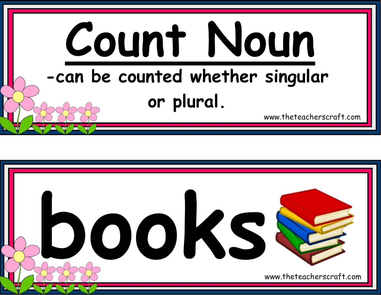 Nouns Count Amp Mass 20 Sets