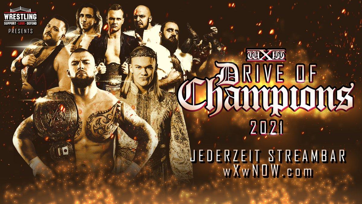 Cobertura: wXw Drive Of Champions 2021 – Dominante!