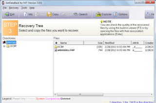 cara mengembalikan file yang terhapus di flashdisk secara permanen