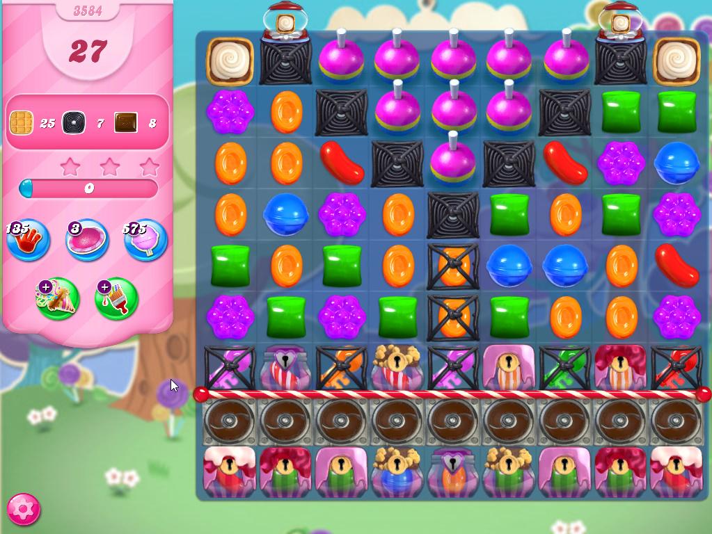 Candy Crush Saga level 3584