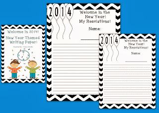 http://www.teacherspayteachers.com/Product/Welcome-2014-New-Year-Themed-Writing-Paper-K-5-1029402