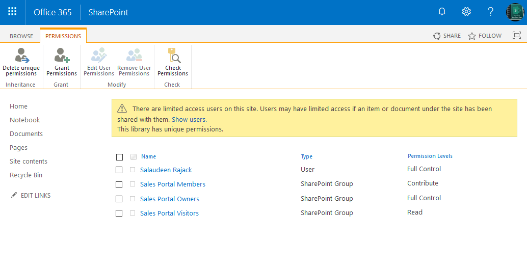PowerShell to Remove user or group from list permissions in sharepoint online