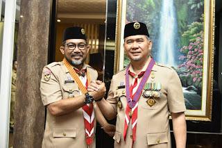 Wali Kota Fasha Pimpin Apel Besar Peringatan ke-58 Hari Pramuka