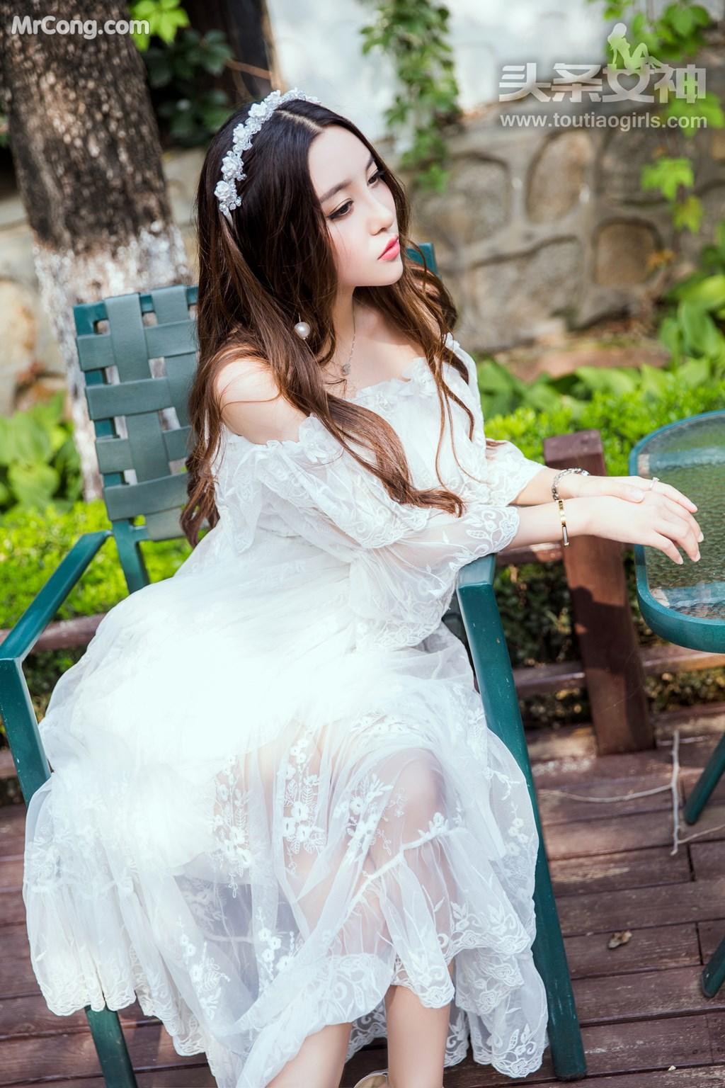 Image TouTiao-2017-08-06-Li-Zi-Xi-MrCong.com-001 in post TouTiao 2017-08-06: Người mẫu Li Zi Xi (李梓熙) (37 ảnh)