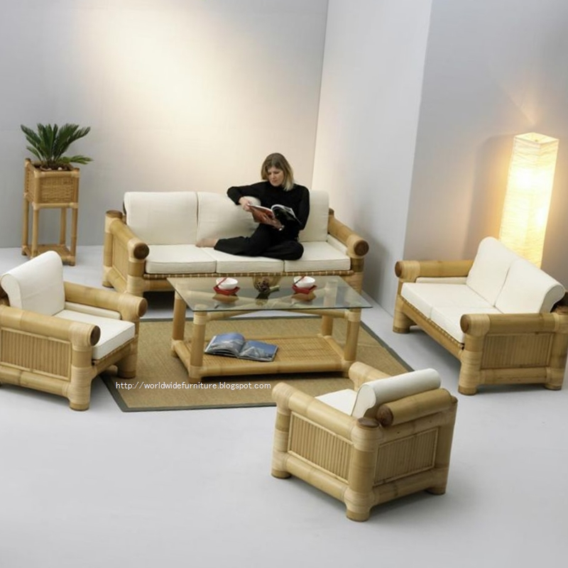 All About Home Decoration & Furniture: Bamboo Furnitures